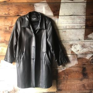 LNR For Nordstrom Size 1X 100% Leather Jacket